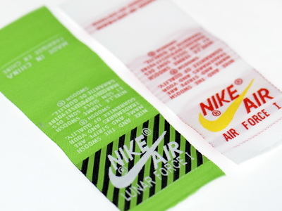 Shoes Tongue Labels