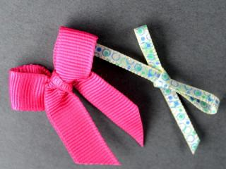 Printed Ribbon Bow